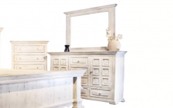 Factory 7 6-Drawer 2-Door Dresser