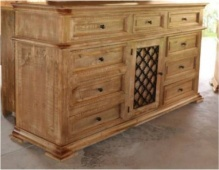 Factory 7 Monterey 9-Drawer 1-Door Dresser