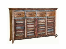 4-Drawer 4-Door 4 Drawer Sideboard