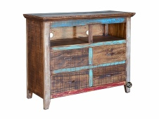 Cabana 4-Drawer Media Chest
