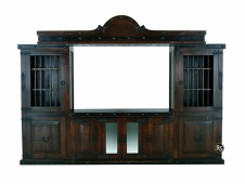 Gran Hacienda Entertainment Center Bridge w/ Star