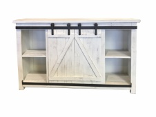 "Factory 7 50"" Barn Door Console"