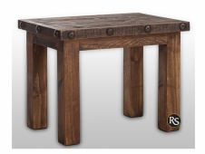 Laredo Distressed End Table