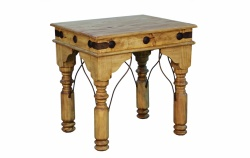 Rustic Indian End Table