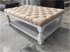 "Factory 7 51"" Wide Padded Bench"